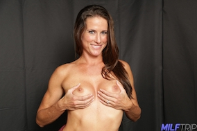 Sofie Marie fucks and takes hot load at milftrip.com