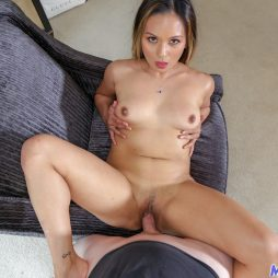 Asian milf pussy gets fucked hard by a horny stud
