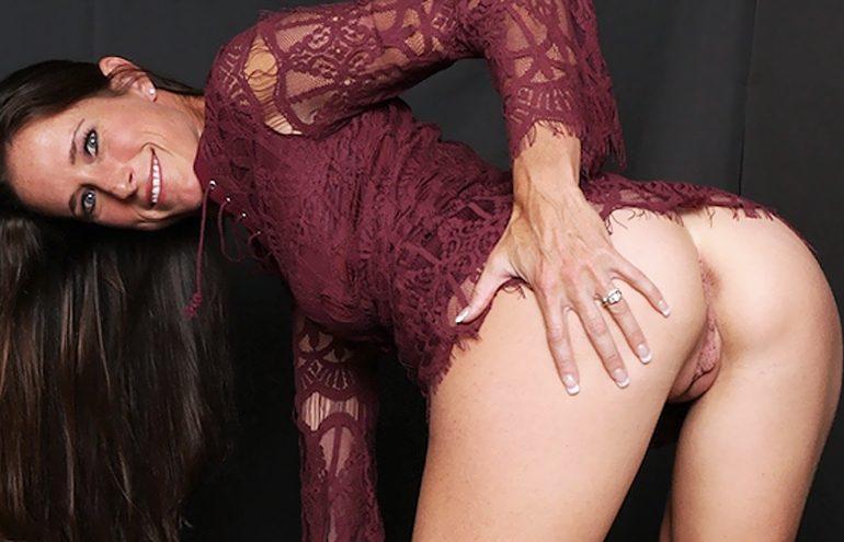 Mature pornstar bent over ready for milf doggy fuck