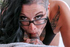 Kinky wife sucks cock in her debut hardcore video